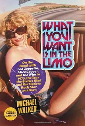 What You Want is in the Limo : On the Road with Led Zeppelin, Alice Cooper, and the Who in 1973, the Year the Sixties Died and the Modern Rock Star Was Born - Michael Walker
