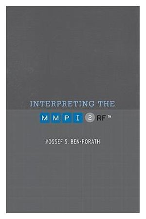 booktopia interpreting the mmpi 2 rf by yossef s ben porath 9780816669660 buy this book online. Black Bedroom Furniture Sets. Home Design Ideas