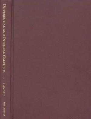 Differential and Integral Calculus Edmund Landau