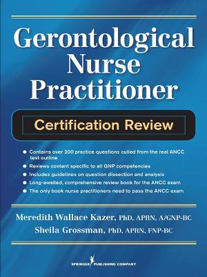 geriatric nurse practitioner certification review book