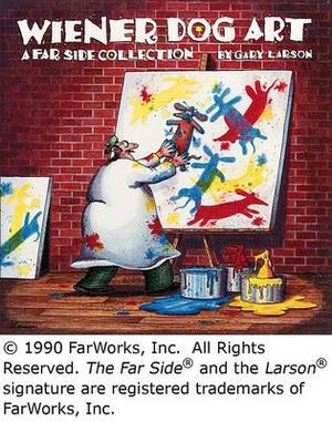 Wiener Dog Art: A Far Side Collection Gary Larson