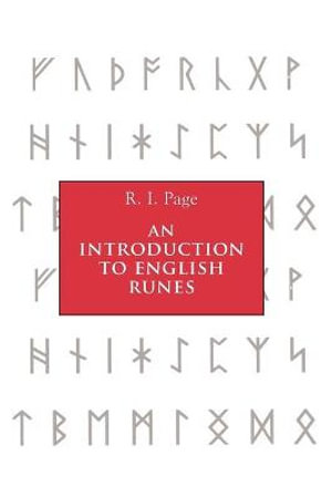An Introduction to English Runes - R. I. Page