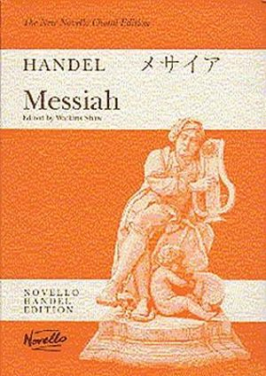 G.F. Handel: Choral Edition : Messiah (Watkins Shaw) - Paperback Edition Vocal Score - Watkins Shaw