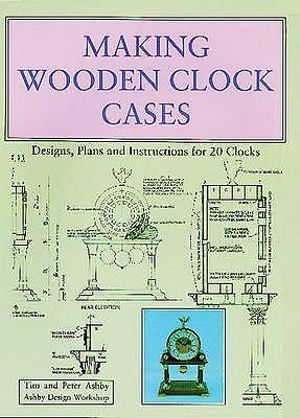 wooden clock making plans