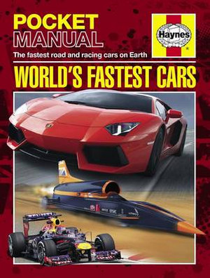 Booktopia - World's Fastest Cars: Haynes Pocket Manual, The ...
