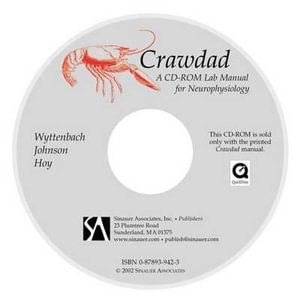 Crawdad : A CD-ROM Lab Manual for Neurophysiology - Robert A. Wyttenbach