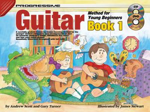 Progressive Guitar Method for Young Beginners : Bk. 1 - Andrew Scott