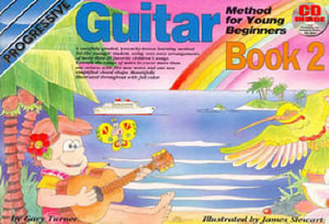 Young Beginner Guitar Method Book 2 Bk/CD : LEARN TO PLAY - Andrew Scott