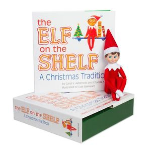 booktopia the elf on the shelf a christmas tradition by