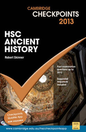 hsc ancient history Higher school certificate examination ancient history general instructions • reading time – 5 minutes • working time – 3 hours • write using black or blue pen black pen is preferred • a source booklet is provided at the back of this paper • write your centre number and.