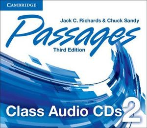 Passages Level 2 Class Audio Cds (3) - Jack C. Richards