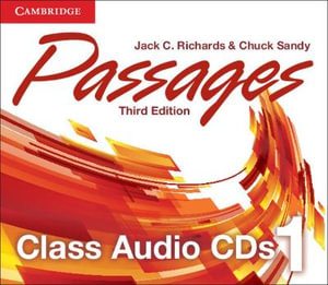 Passages Level 1 Class Audio CDs (3) - Jack C. Richards