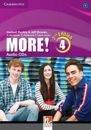 More! Level 4 Audio CDs (3) - Herbert Puchta
