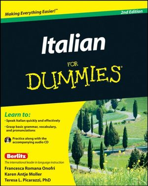 Italian for Dummies : 2nd Edition with CD - Teresa L. Picarazzi