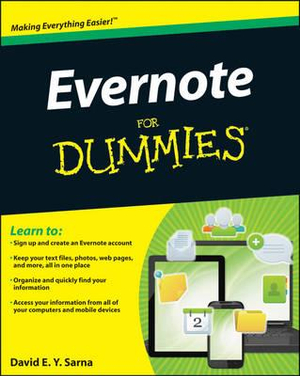 Evernote For Dummies : For Dummies - David E. Y. Sarna