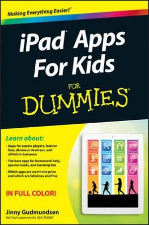 iPad Apps for Kids For Dummies : For Dummies - Jinny Gudmundsen