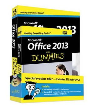 Office 2013 For Dummies : Book + DVD Bundle - Wallace Wang
