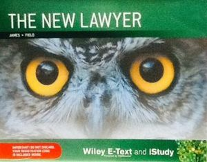 The New Lawyer Loose leaf-text and Istudy : 1st Edition - Brother James