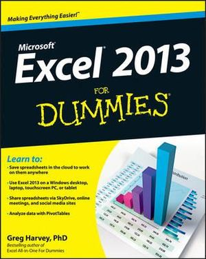 Excel 2013 For Dummies - Greg Harvey