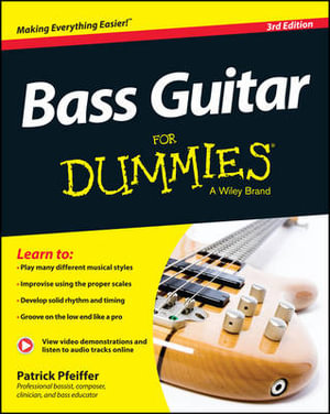 Bass Guitar For Dummies - Patrick Pfeiffer