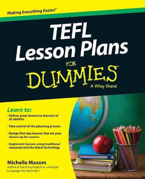 TEFL Lesson Plans For Dummies - Michelle M. Maxom
