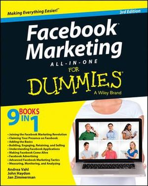 Facebook Marketing All-in-one For Dummies(R) - Andrea Vahl