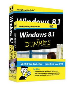 Windows 8.1 for Dummies Book + DVD Bundle - Andy Rathbone