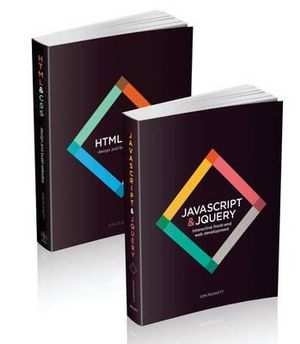 Web Design with HTML, CSS, JavaScript and jQuery Set - Jon Duckett