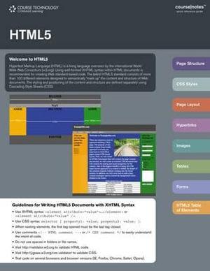 HTML 5 Coursenotes : Coursenotes - Course Technology