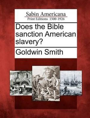 bible sanctions slavery Not only does the bible explicitly allow beating your slaves, it allows as proof that slavery was a just and proper institution sanctioned by god.