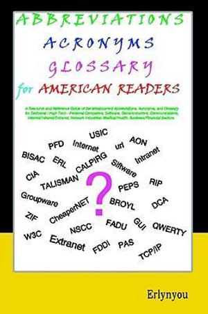 Abbreviations Acronyms Glossary for American Readers - Erlynyou