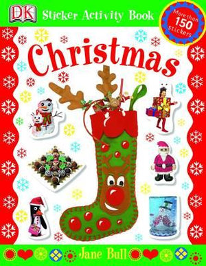 Christmas : Sticker Activity Book - Jane Bull