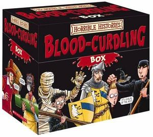 Horrible Histories : Blood Curdling Box : 20 x Paperbacks in 1 x Boxed Set - Terry Deary