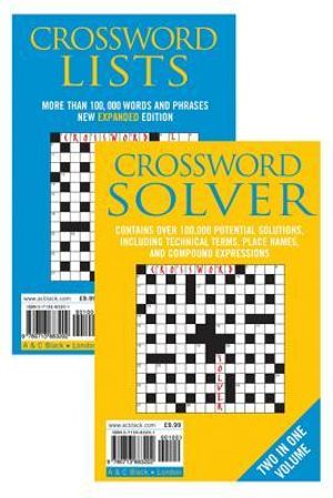 Crossword Lists & Crossword Solver : Over 100,000 potential solutions including technical terms, place names and compound expressions - Anne Stibbs Kerr
