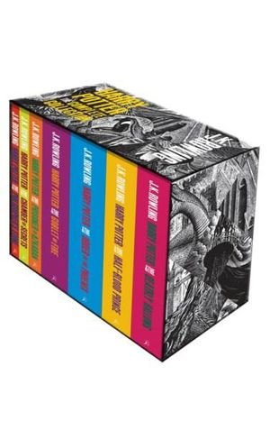 Harry Potter Complete Paperback Box Set Adult Editions - J.K. Rowling