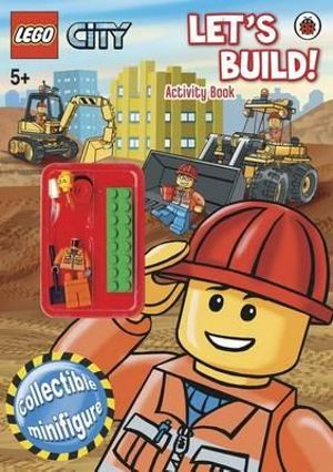 LEGO City : Let's Build : Activity Book with Collectible Minifigure - Lego