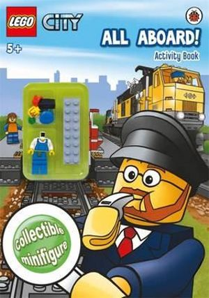 LEGO CITY : All Aboard! : Activity Book with LEGO Minifigure - Ladybird