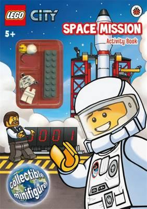 LEGO CITY : Space Mission : Activity Book with LEGO Minifigure - Ladybird