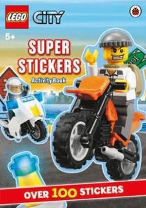 LEGO City Super Stickers Activity Book : Over 100 Stickers - Ladybird