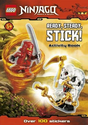 LEGO Ninjago : Ready, Steady, Stick! Activity Book : Over 100 Stickers - Ladybird