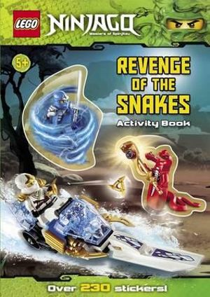 LEGO Ninjago : Revenge of the Snakes Activity Book : Over 230 Stickers - Ladybird