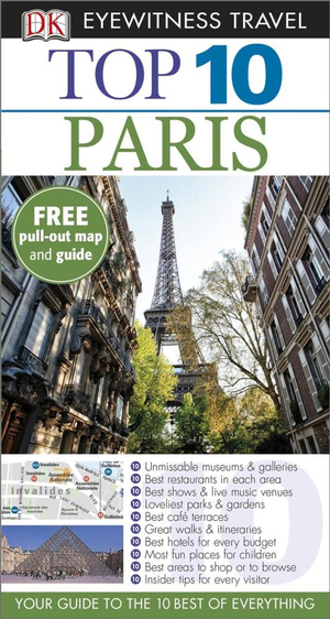 Paris  : DK Eyewitness Top 10 Travel Guide - Mike Gerrard