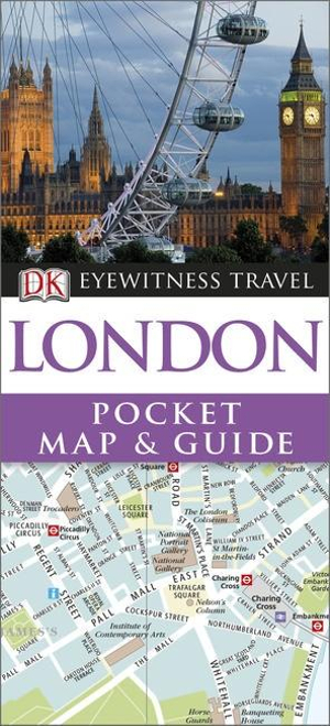 DK Eyewitness Pocket Map and Guide : London - Dorling Kindersley