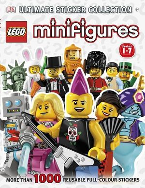 LEGO Minifigures Ultimate Sticker Collection : More Than 1000 Reusable Full-Colour Stickers - Dorling Kindersley