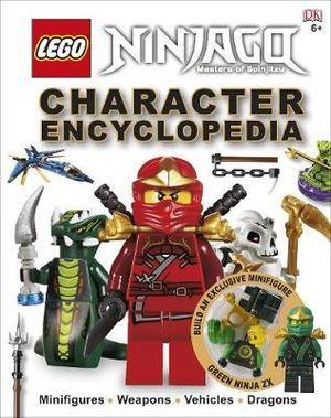 LEGO Ninjago Character Encyclopedia : With Green Ninja ZX Minifigure - Dorling Kindersley