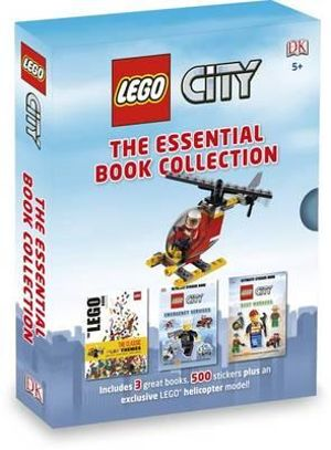 LEGO CITY : The Essential Book Collection : Includes 3 Great Books, 500 Stickers and 1 Lego Helicopter Model - DK Publishing