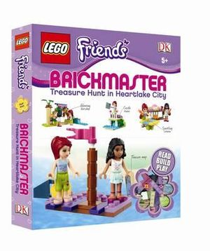 LEGO Friends Brickmaster  : Treasure Hunt in Heartlake City - Dorling Kindersley