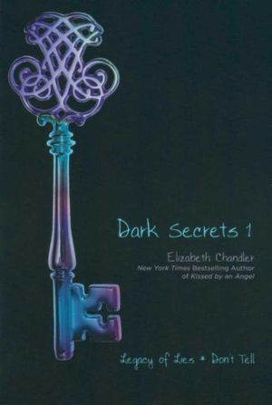 book cover for dark secrets 1 by elizabeth chandler