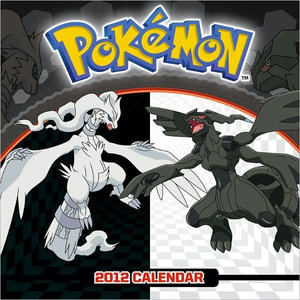 Pokemon 2012 Wall Calendar
