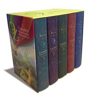 Oz, the Complete Hardcover Collection : The Wizard of Oz Collection : Volumes 1 to 5 - L. (Lyman) Frank Baum